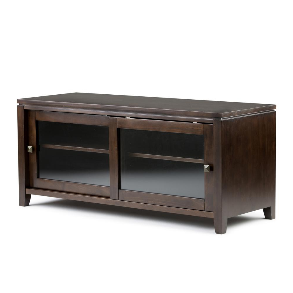 Rustic – Tv Stands – Living Room Furniture – The Home Depot In Latest Country Tv Stands (View 15 of 20)