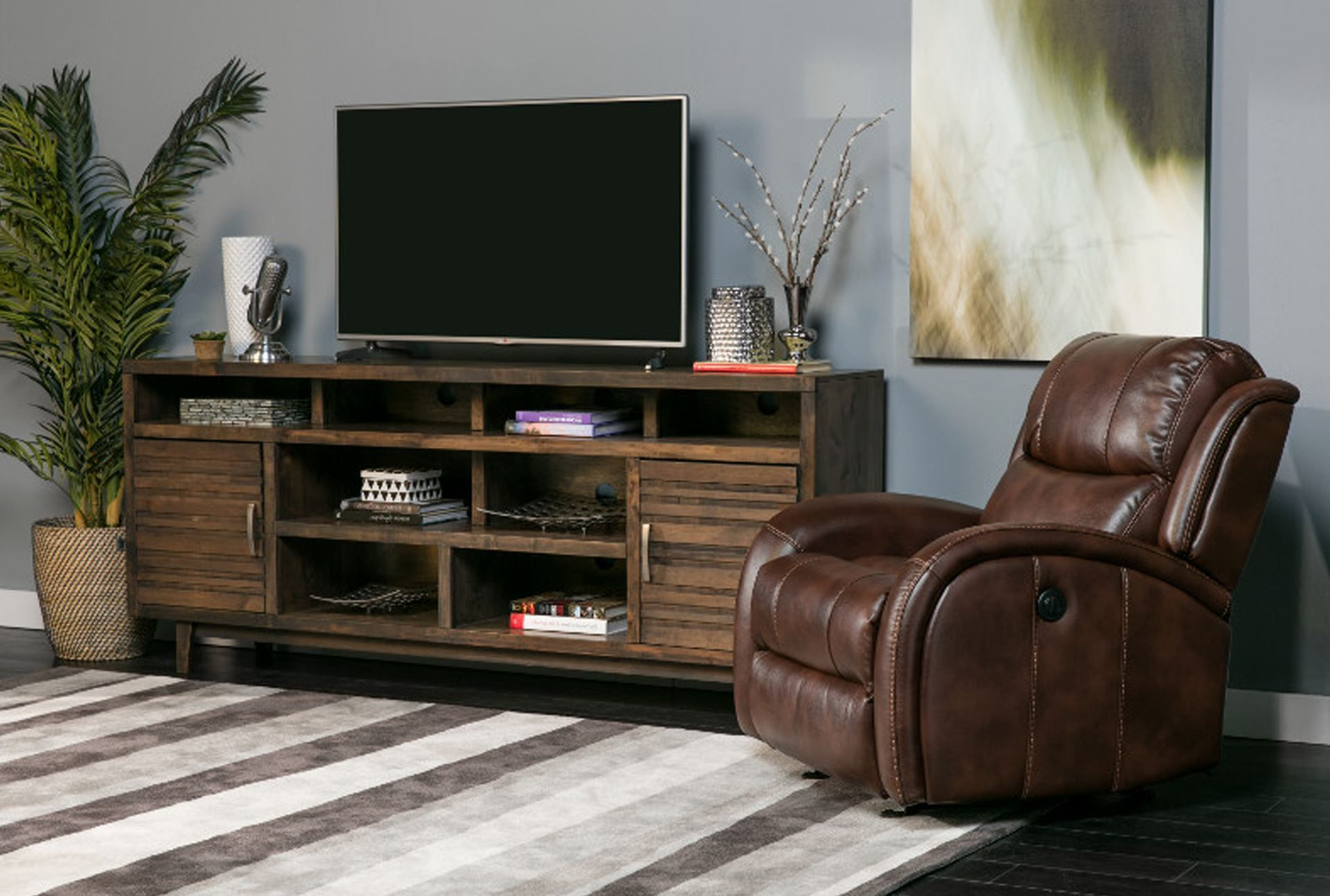 Rustic Tv Stands, Tv Stand Cover Within Ducar 84 Inch Tv Stands (View 13 of 20)