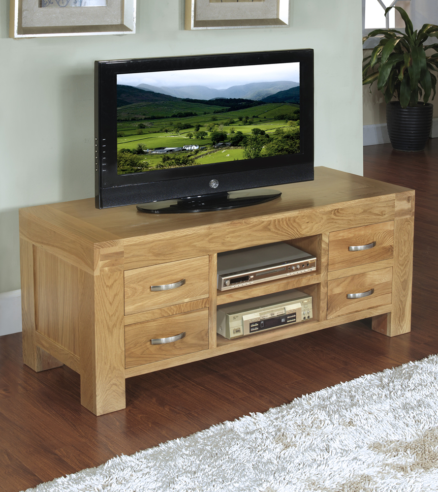 Santana Oak Tv Furniture With Best And Newest Unique Block Island Inch Oak Tv Stand Then Mission Style Hardware (Gallery 5 of 20)