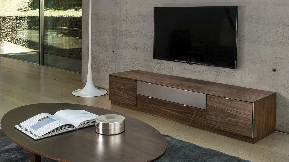 Scandinavian Design Tv Cabinets In Popular Scandinavian Design Tv Cabinet / Wooden – #941 – Skovby (Gallery 15 of 20)