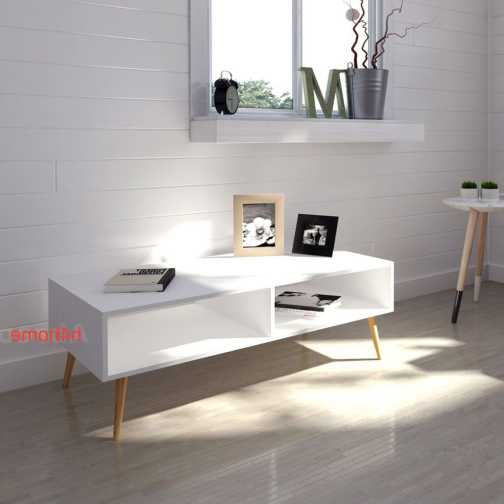Scandinavian Tv Stands With Well Liked White Retro Coffee Table Scandinavian Tv Stand Vintage Room (Gallery 8 of 20)
