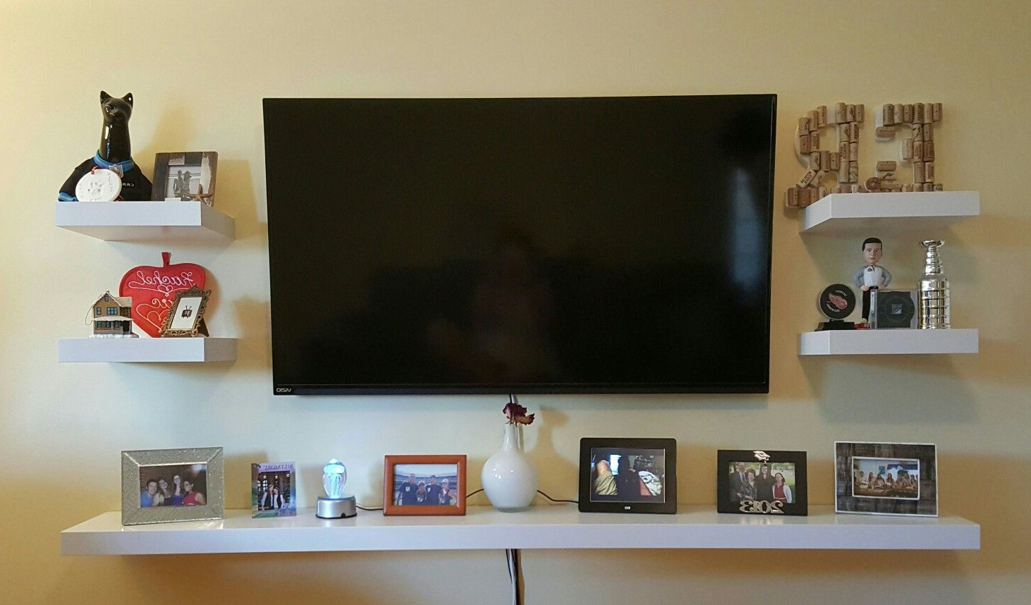 Featured Photo of Shelves For Tvs On The Wall