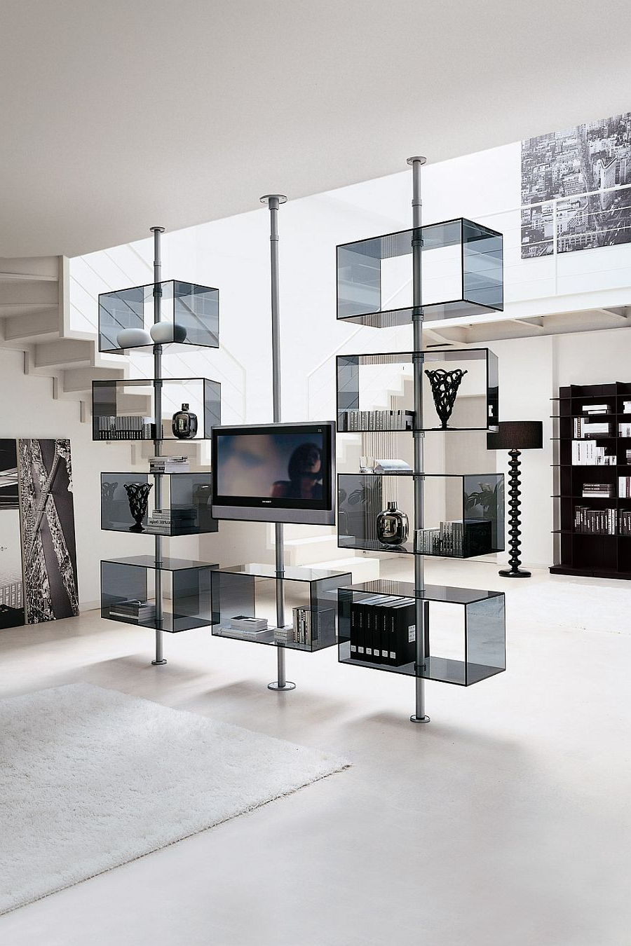 Shelves Inside Most Recent Modern Contemporary Tv Stands (Gallery 4 of 20)