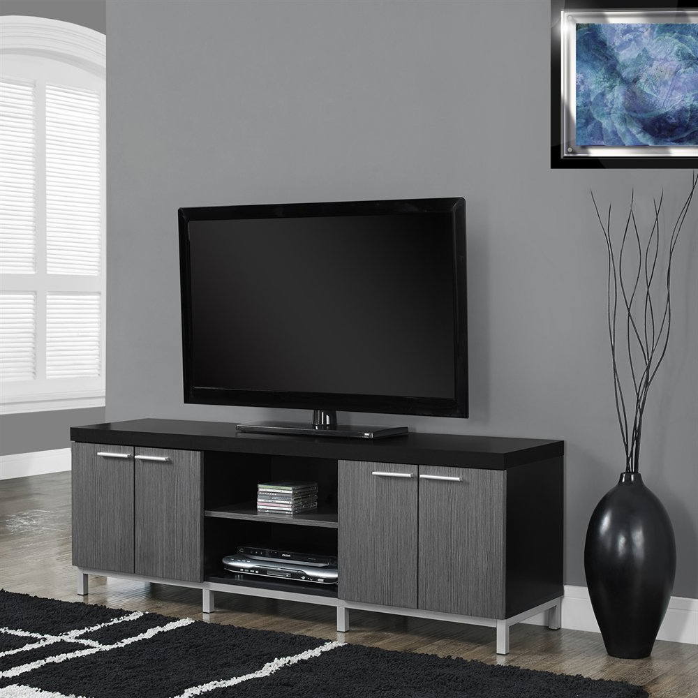 Shiny Tv Stands Regarding Fashionable Tv Stands (View 4 of 20)