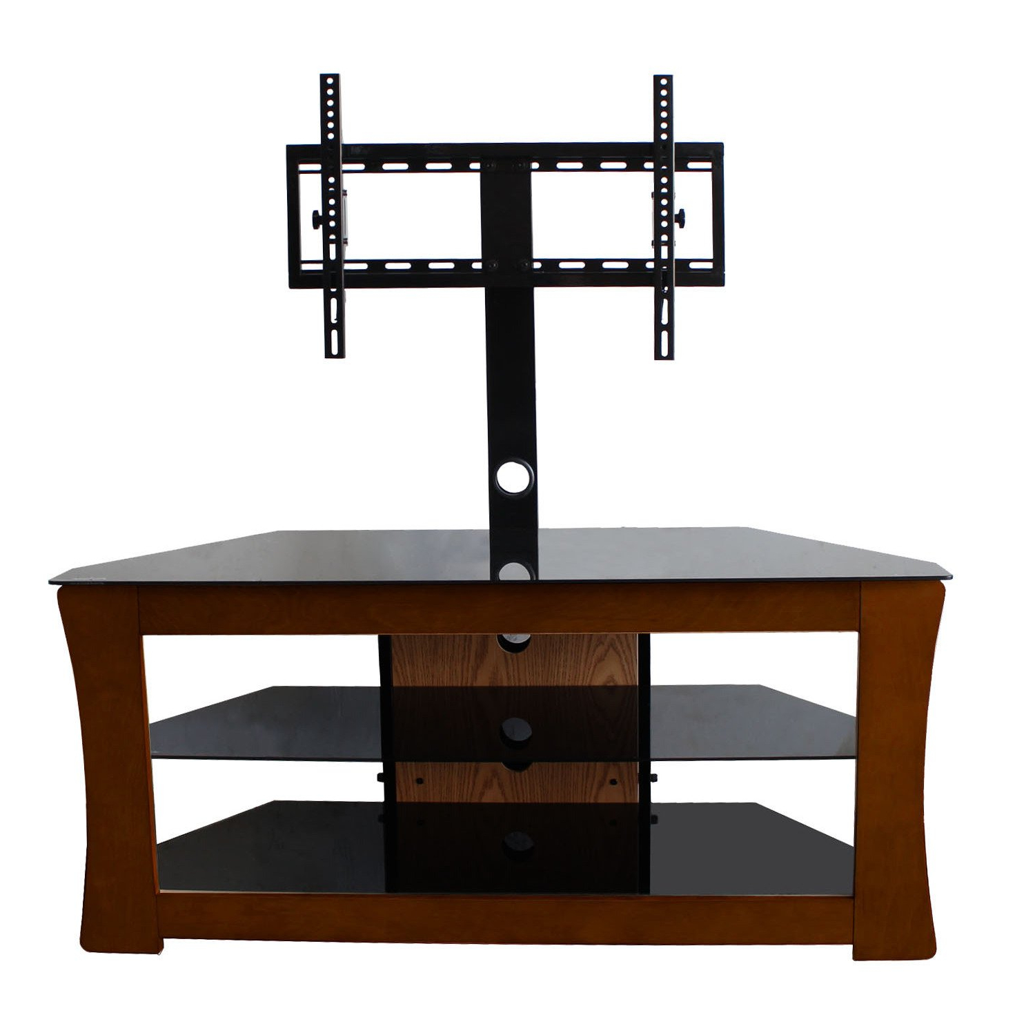 Shop Avista Visto Espresso Tv Stand With Rear Swivel Mount For Up To With Well Liked Tv Stands Swivel Mount (Gallery 19 of 20)