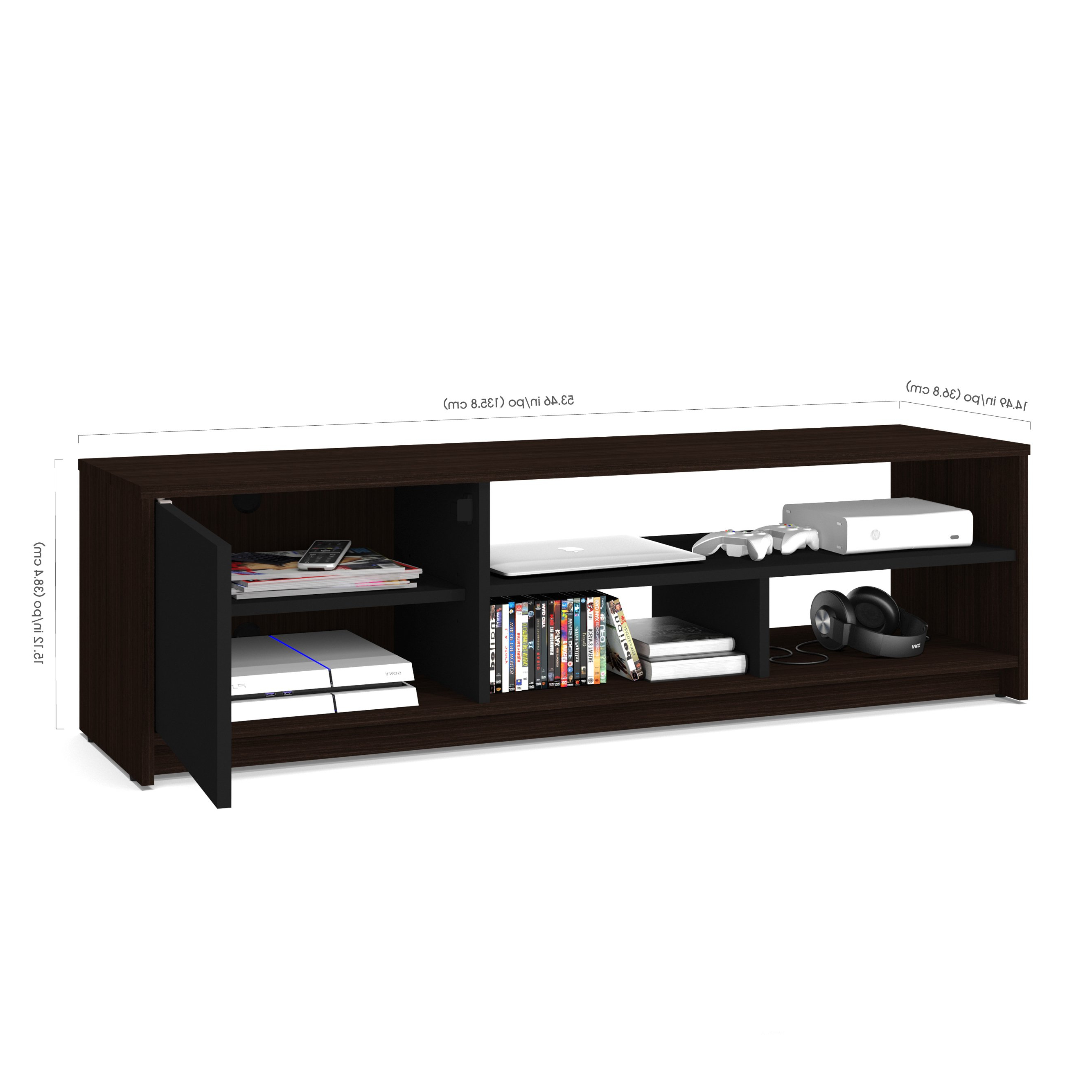 Shop Bestar Small Space 2 Piece Lift Top Storage Coffee Table And Tv Intended For Most Recently Released Coffee Tables And Tv Stands Sets (Gallery 19 of 20)