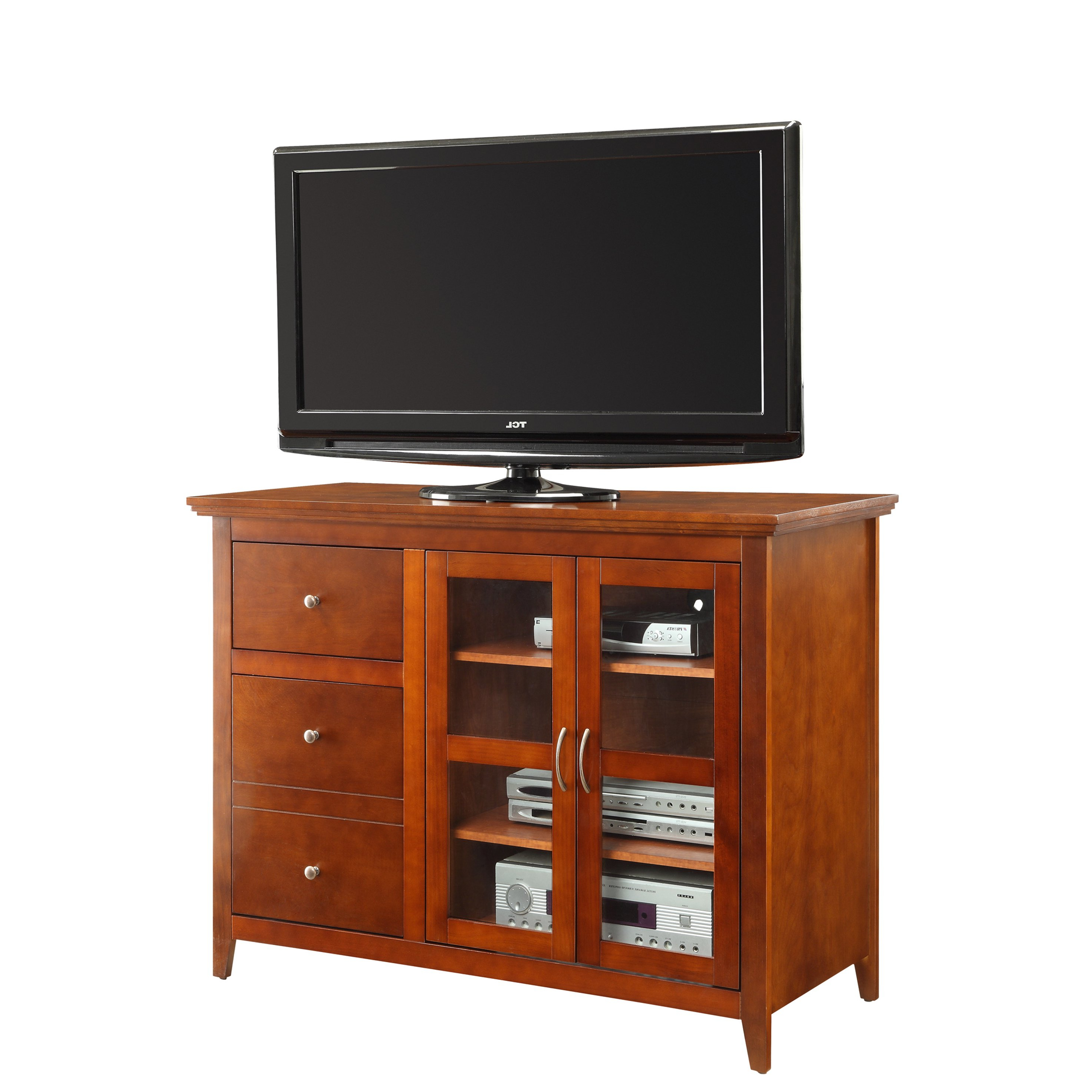 Shop Convenience Concepts Designs2Go Sierra Highboy Tv Stand – Free With Preferred Highboy Tv Stands (View 16 of 20)