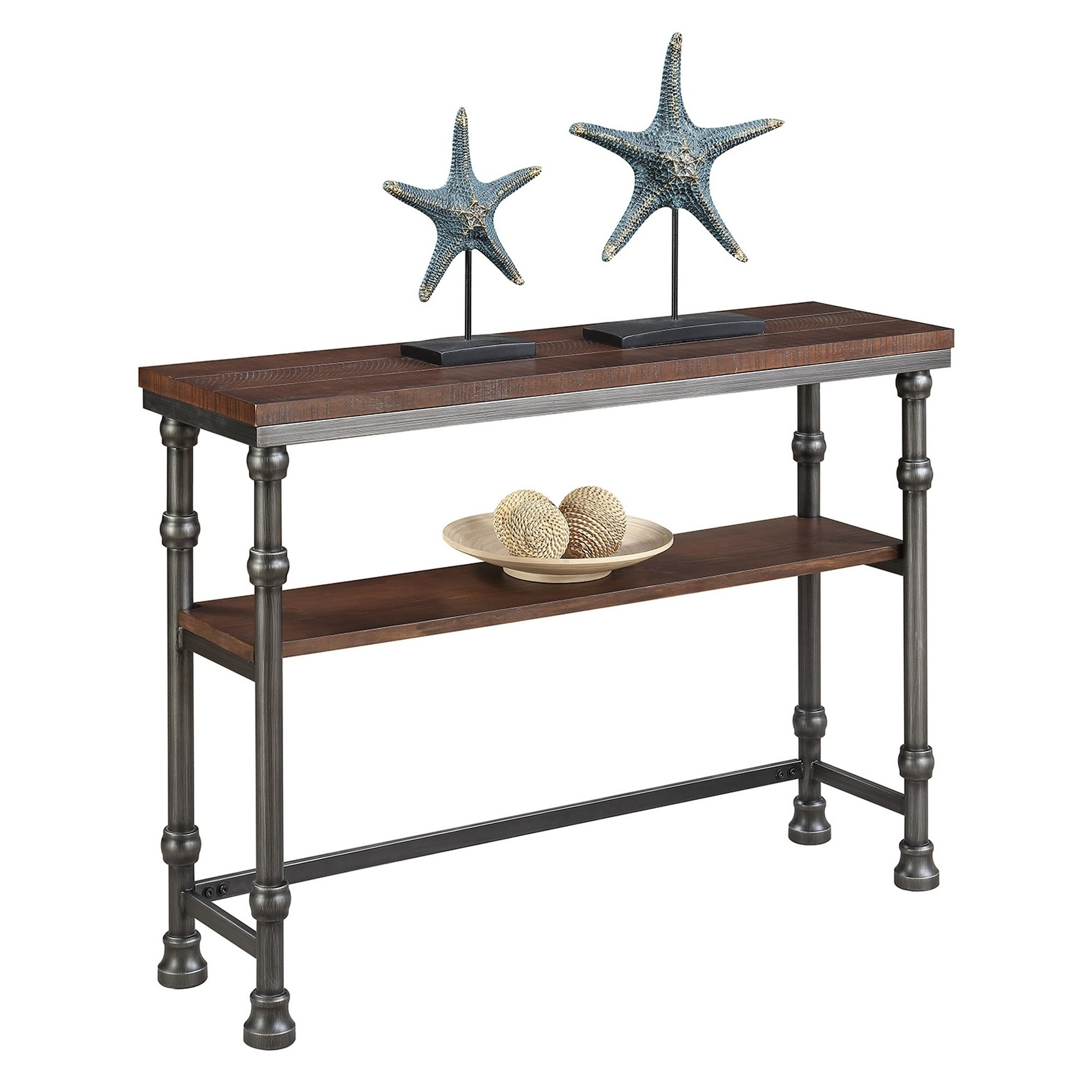 Shop Convenience Concepts Yukon Console Table – Free Shipping Today Inside Fashionable Yukon Natural Console Tables (Gallery 5 of 20)