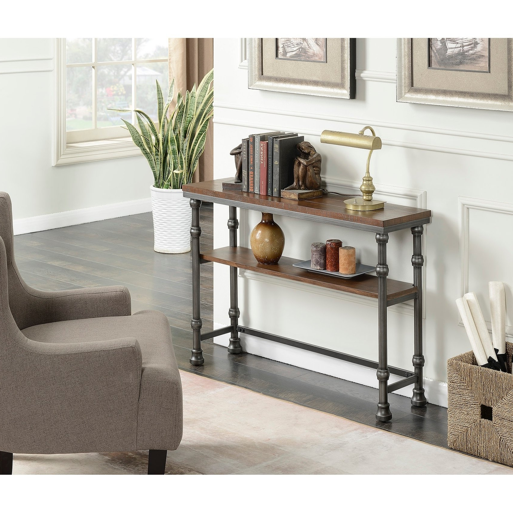 Shop Convenience Concepts Yukon Console Table – Free Shipping Today Intended For Newest Yukon Natural Console Tables (View 13 of 20)