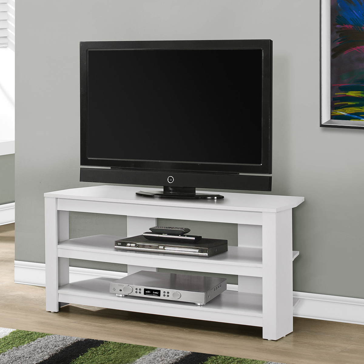 Shop Corner Tv Stands With Regard To 2018 Contemporary Corner Tv Stands (View 12 of 20)