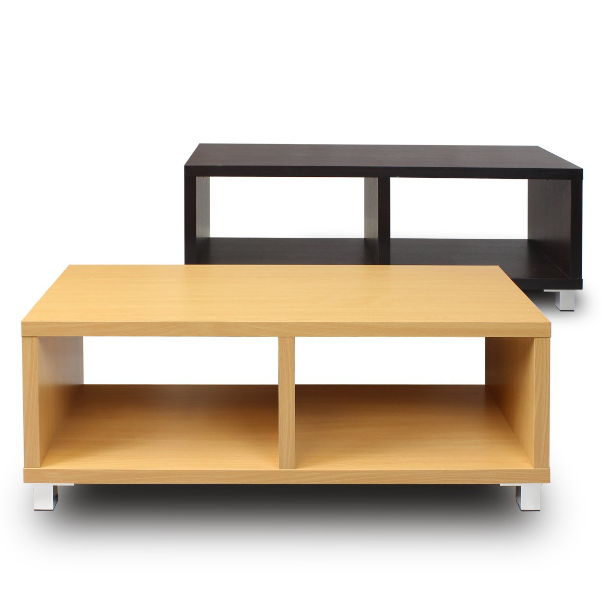 Shop Furinno Nihon Dual Functiona Contemporary Tv Stand Coffee Table Throughout Well Liked Tv Stand Coffee Table Sets (Gallery 19 of 20)
