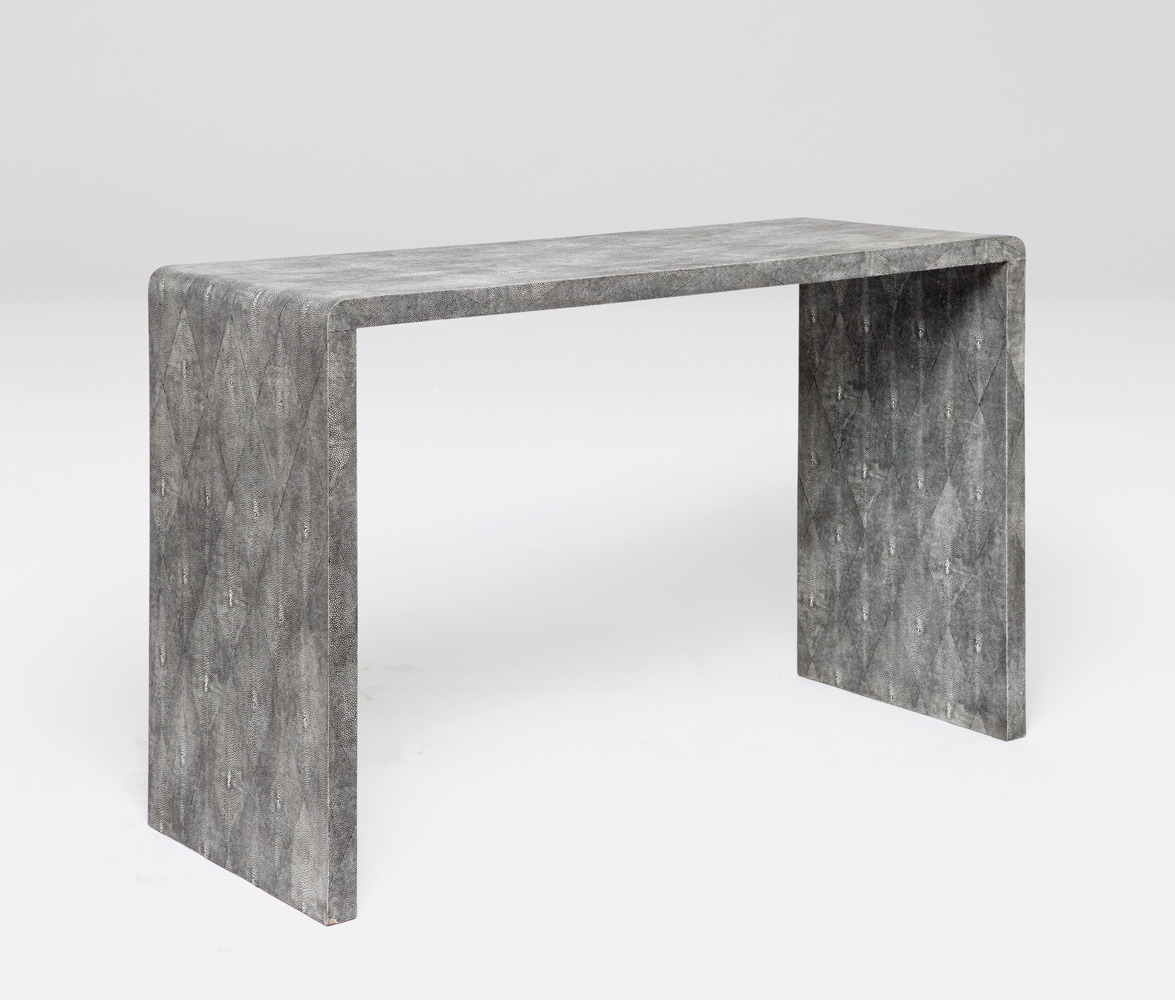 Shop – Helen – Console – Thistle Studios Inside Preferred Faux Shagreen Console Tables (Gallery 5 of 20)