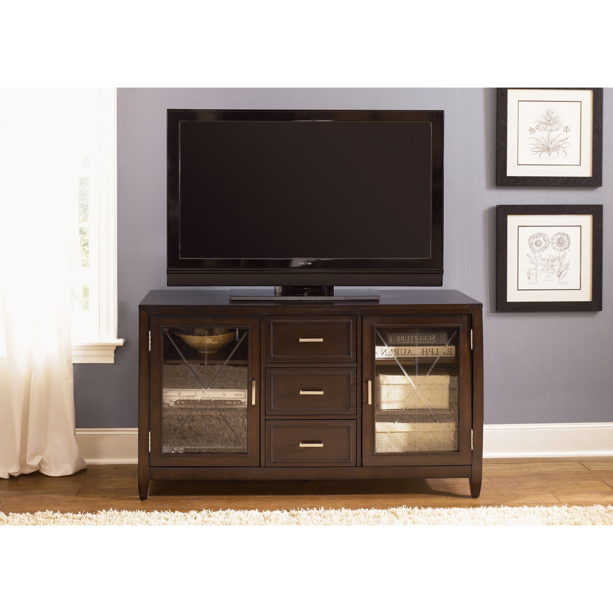Shop Liberty Caroline 60 Inch Entertainment Tv Stand – On Sale With Regard To Most Recently Released Laurent 60 Inch Tv Stands (View 10 of 20)
