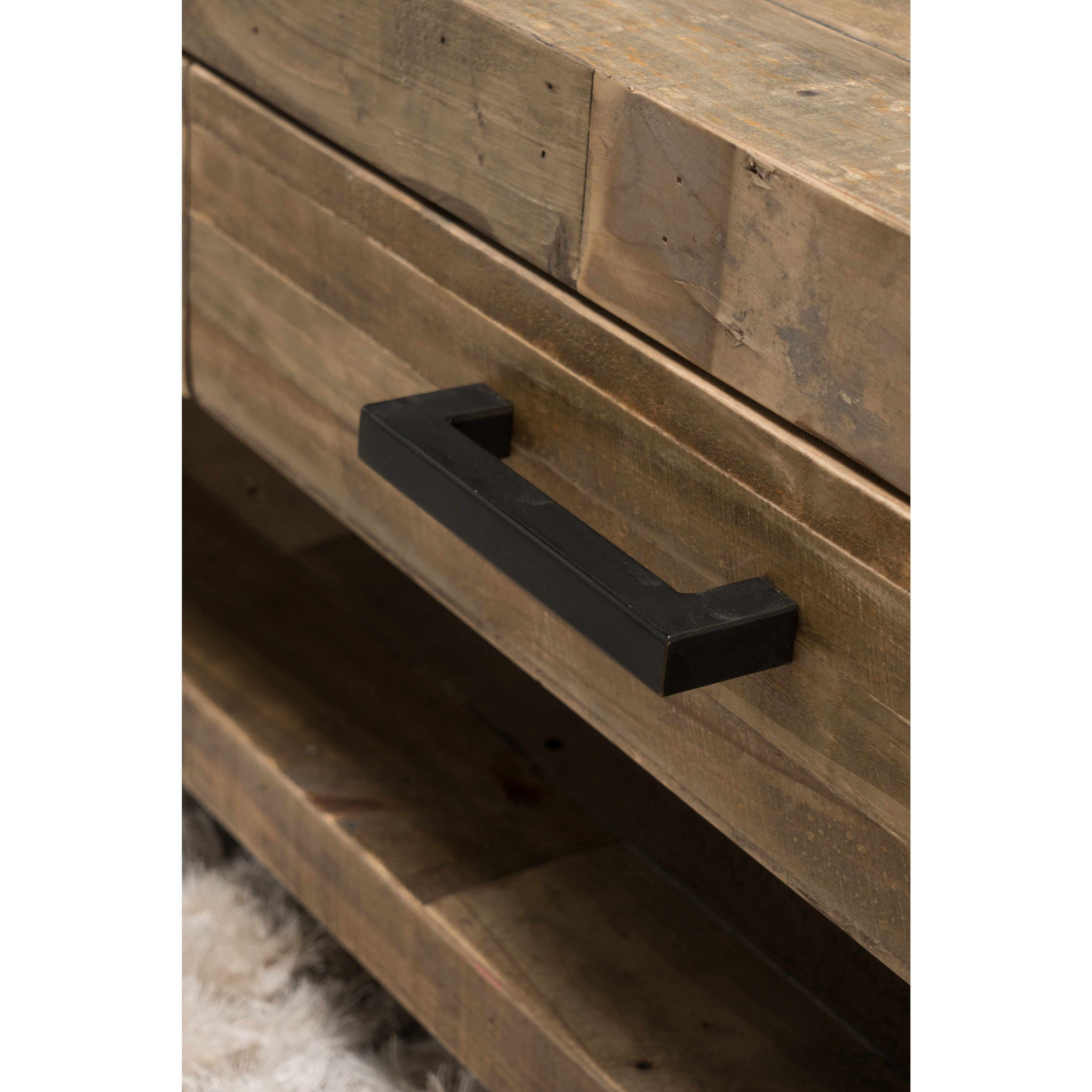 Shop Oscar Reclaimed Wood Coffee Tablekosas Home – Free Shipping In Well Liked Oscar 60 Inch Console Tables (View 9 of 20)