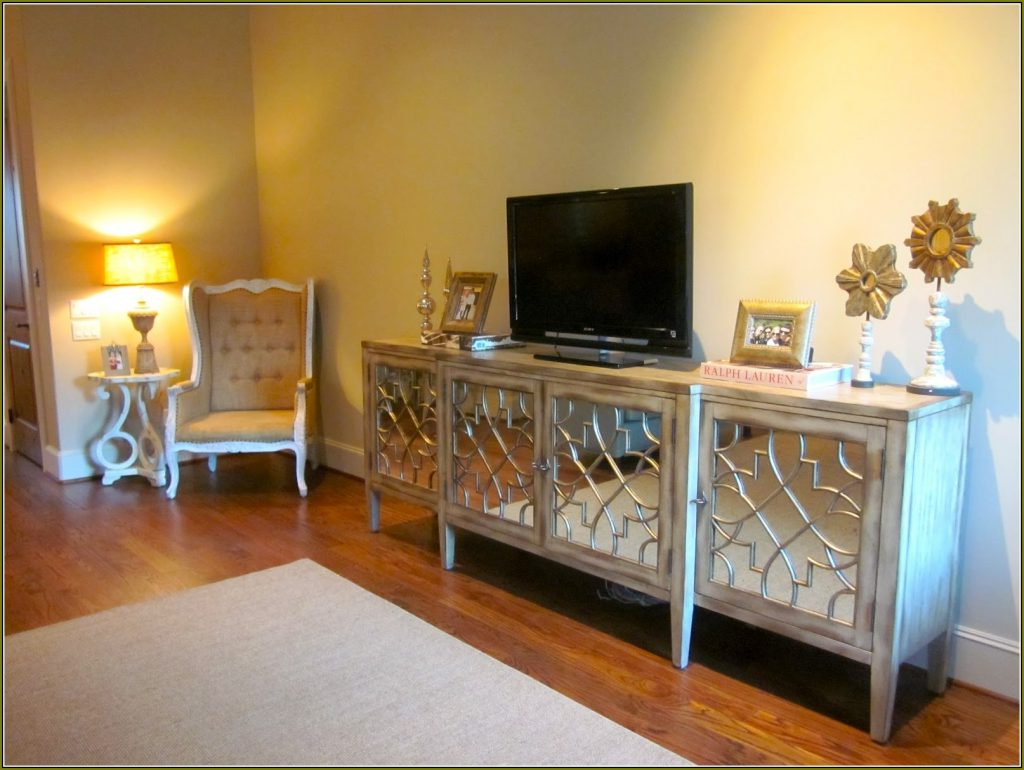Shortandsweetly Pertaining To Preferred Mirrored Tv Cabinets Furniture (View 15 of 20)