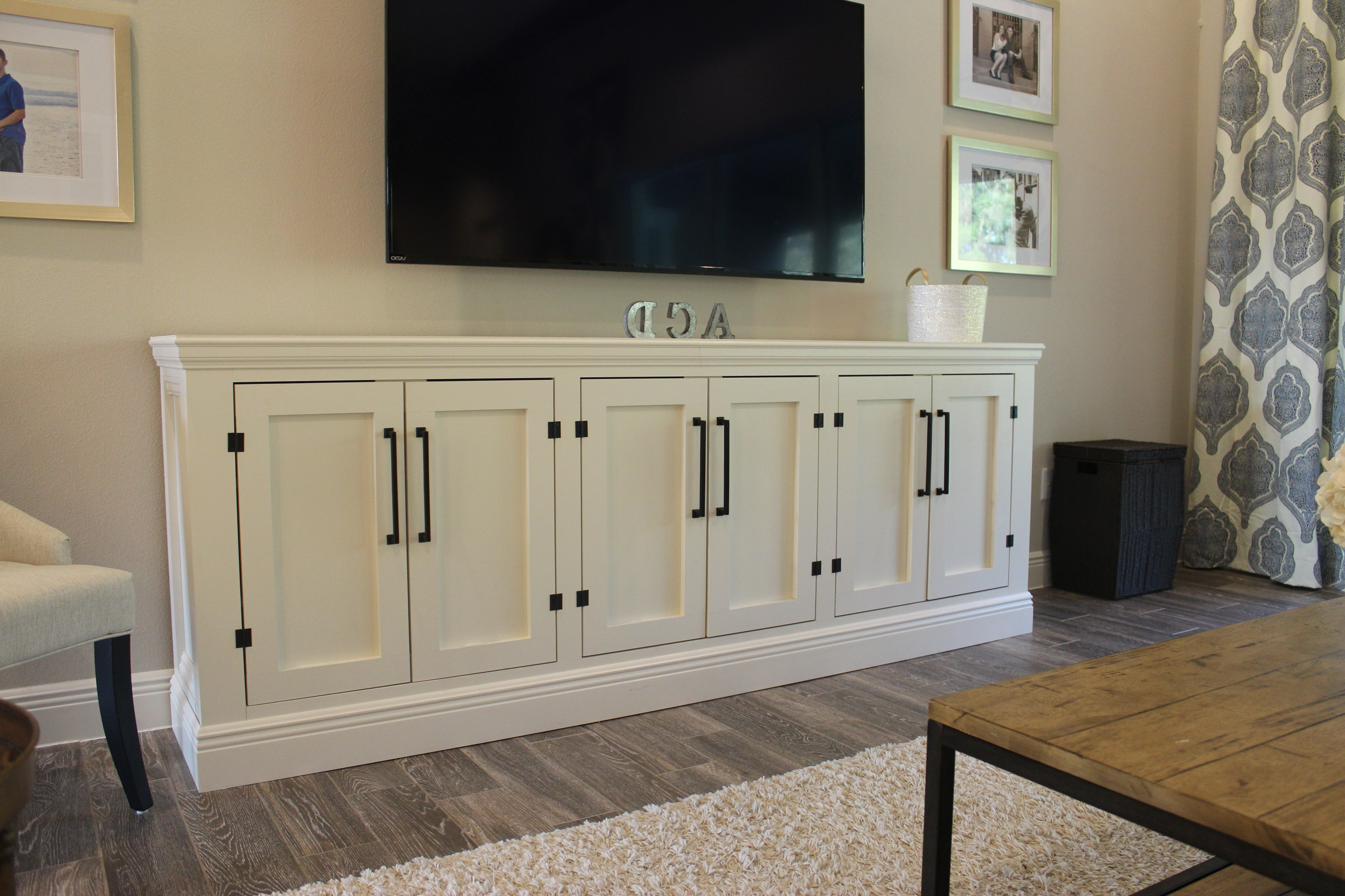 Sideboard Tv Stands In Newest Diy Restoration Hardware Sideboard/tv Stand – Frills & Drills (Gallery 2 of 20)