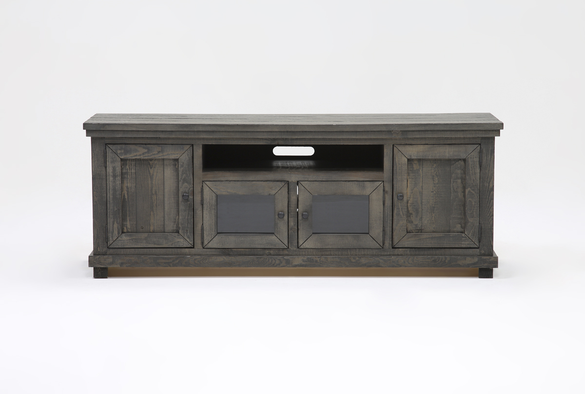 Sinclair Grey 74 Inch Tv Stands Throughout Fashionable Sinclair Grey 74 Inch Tv Stand (Gallery 1 of 20)