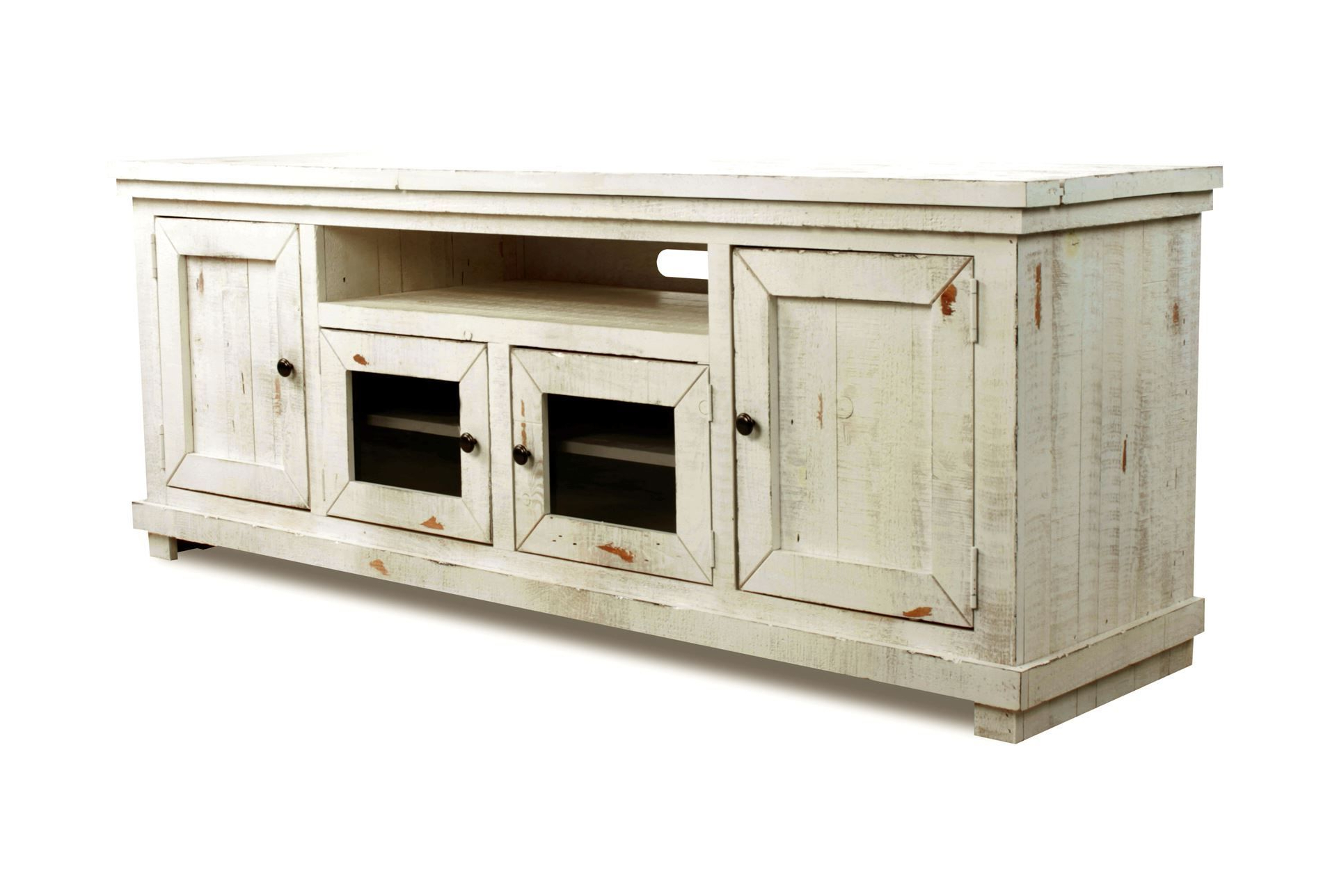 Sinclair White 74 Inch Tv Stand (Gallery 9 of 20)