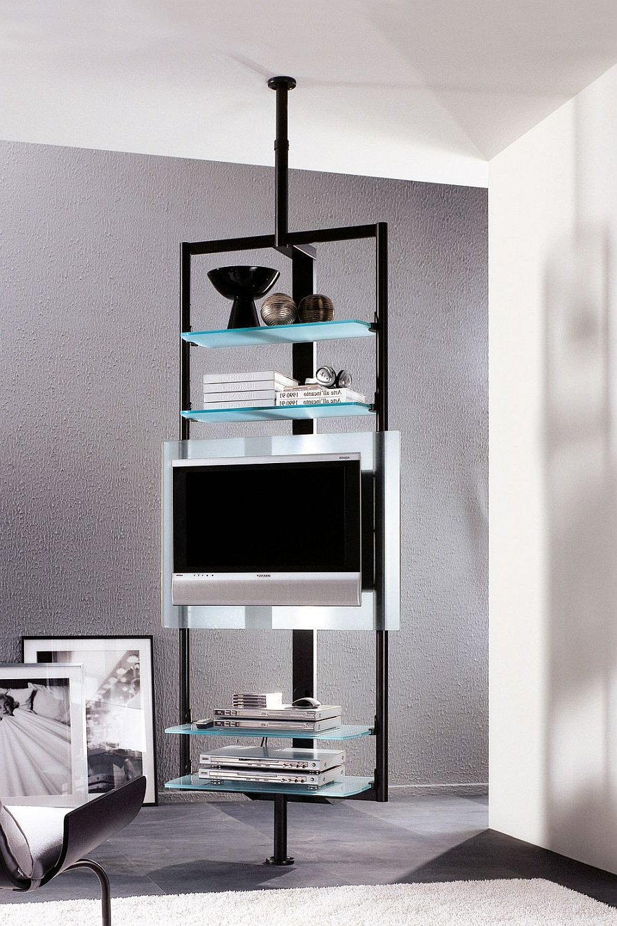 Sleek Tv Stands In Well Known Sleek Silhouette Of The Tv Stand Ensures It Takes Little Space (View 13 of 20)