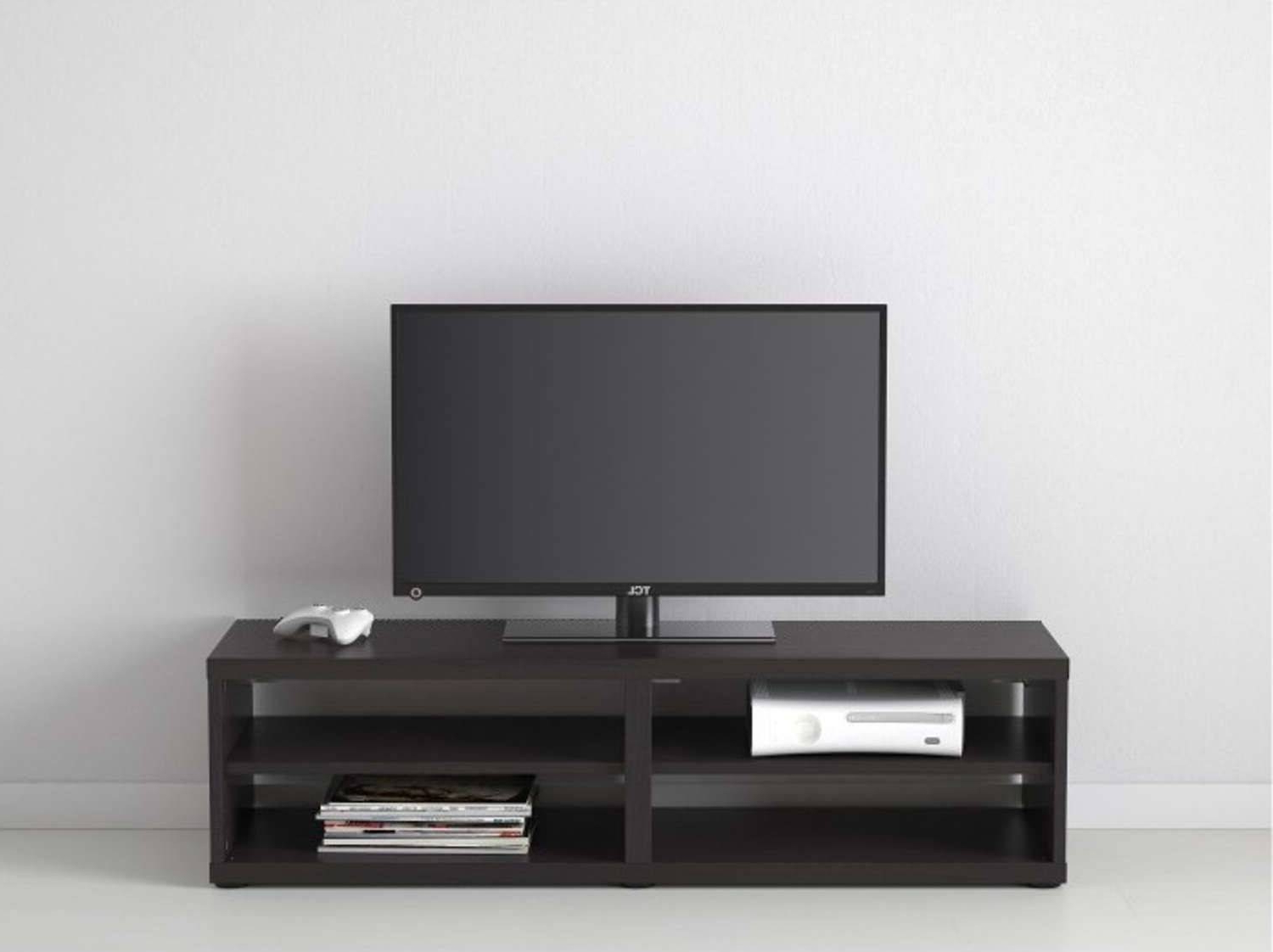Small Black Tv Cabinets Pertaining To Recent Tv Stand Clearance Black 55 Inch Big Lots Stands Target Small With (View 18 of 20)