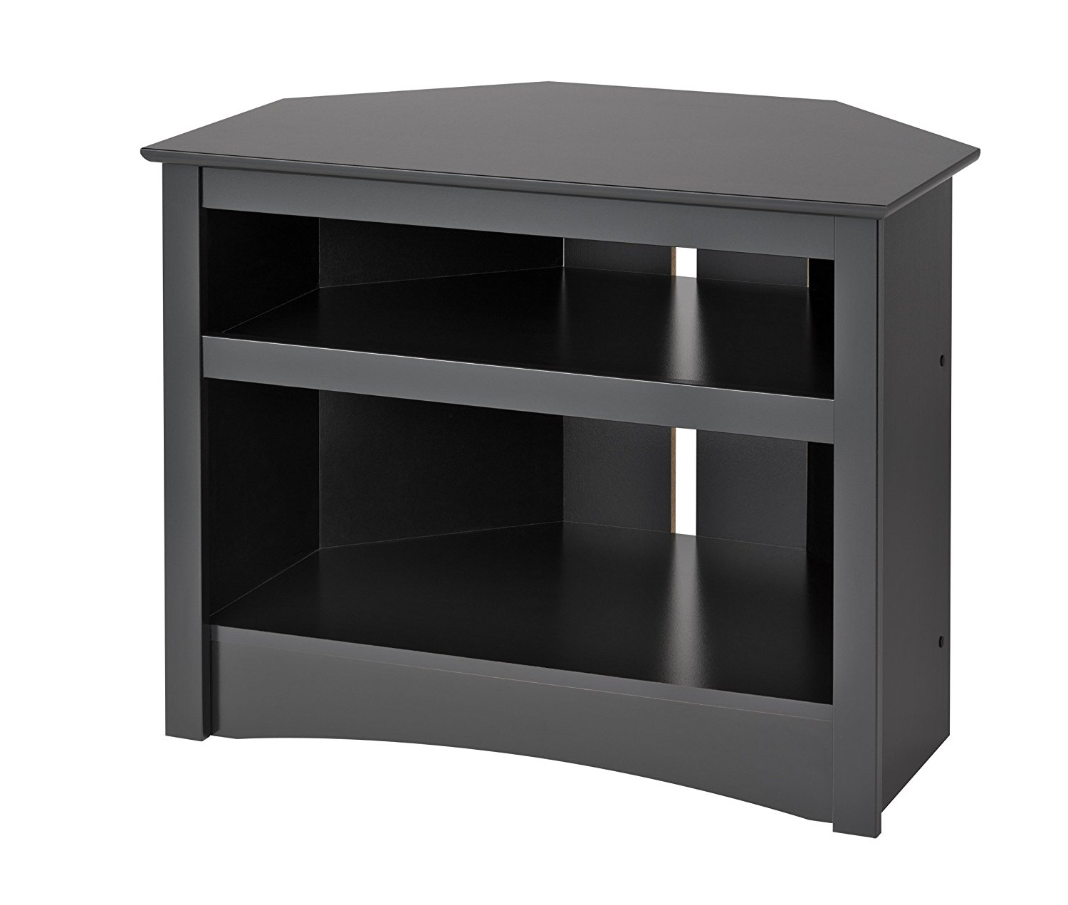Small Black Tv Cabinets With Newest Black Corner Tv Cabinet (View 4 of 20)