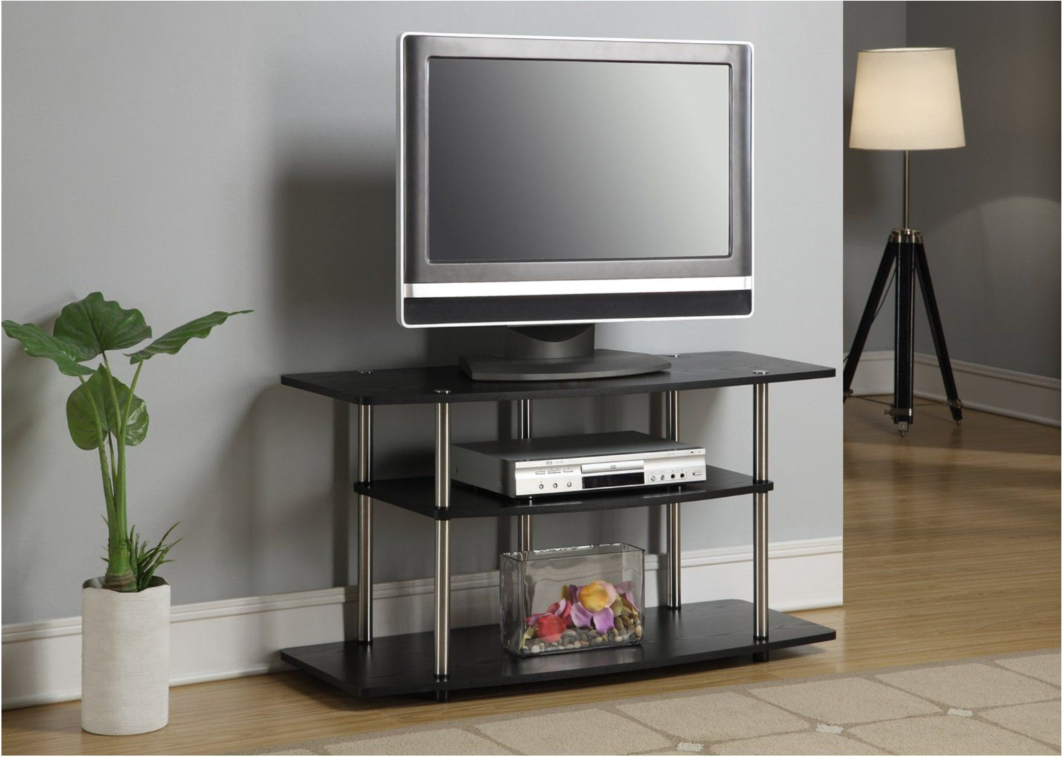 Small Tv Stands On Wheels Inside 2018 Magnificent Tv Stands Modern Tv Stands For 40 Inch Flat Screen With (Gallery 13 of 20)
