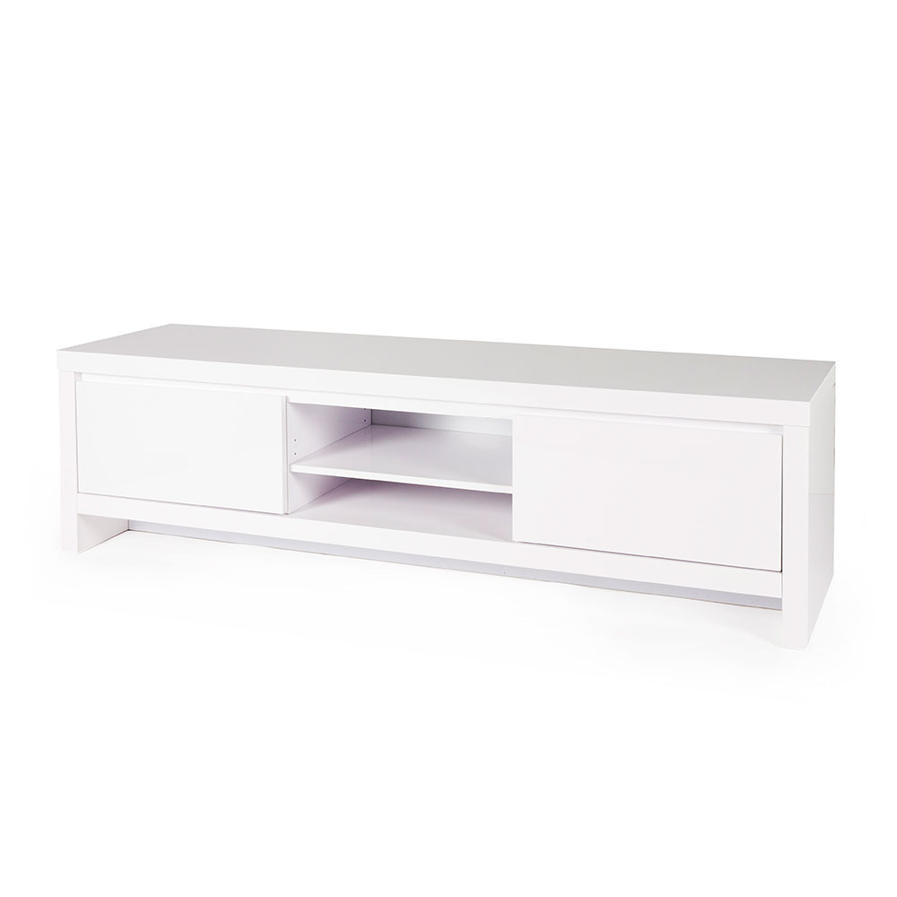 Soho Tv Cabinet – Gloss White – The Look Store With Regard To Latest Soho Tv Cabinets (Gallery 9 of 20)
