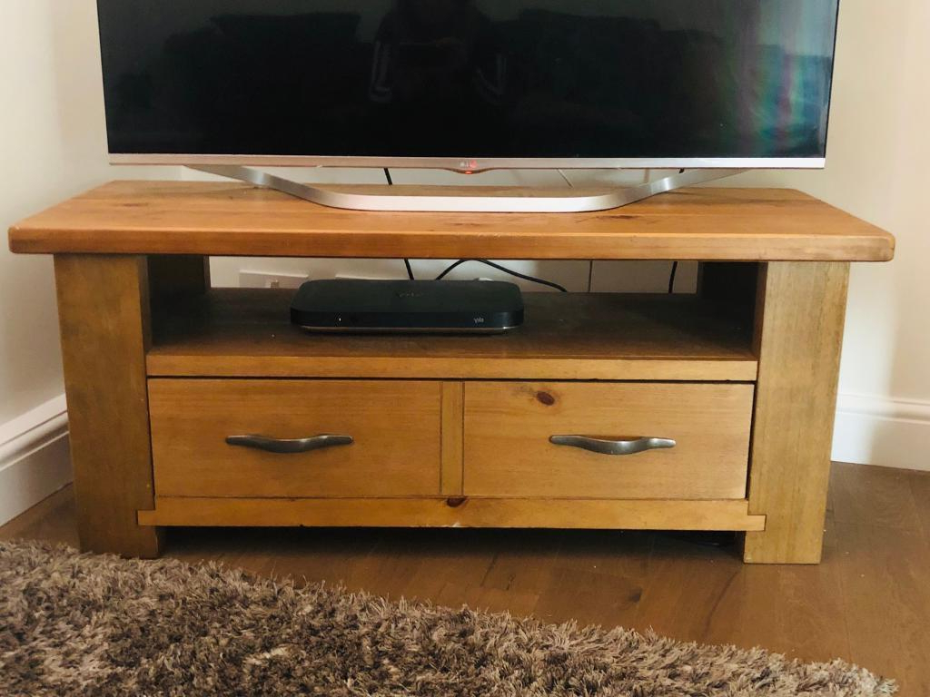 Solid Oak Tv Stand (matching Coffee Table Available) (View 13 of 20)