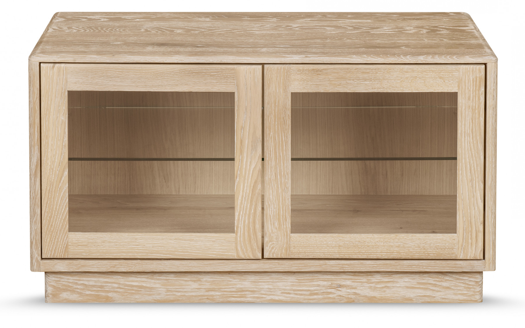 Solid Oak Within Most Popular Oak Tv Cabinets With Doors (View 16 of 20)
