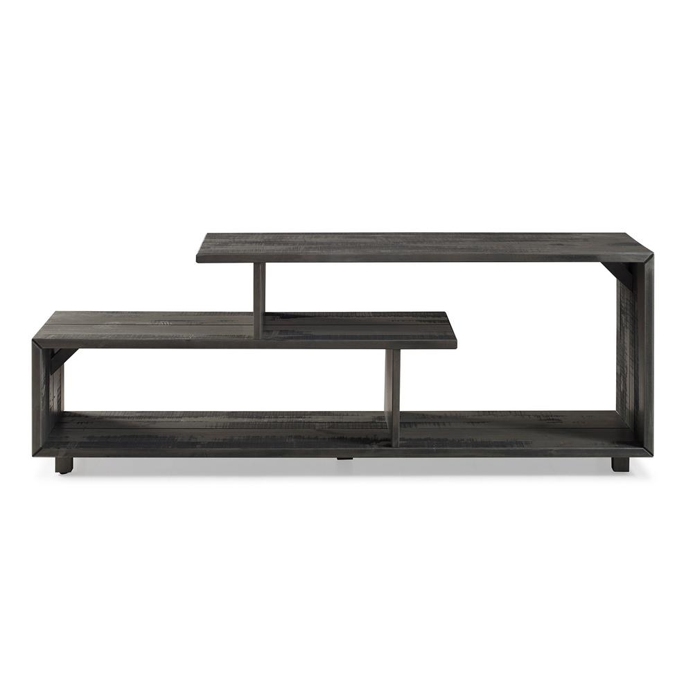 Solid Wood Black Tv Stands Inside Current Walker Edison Furniture Company 60 In (View 17 of 20)