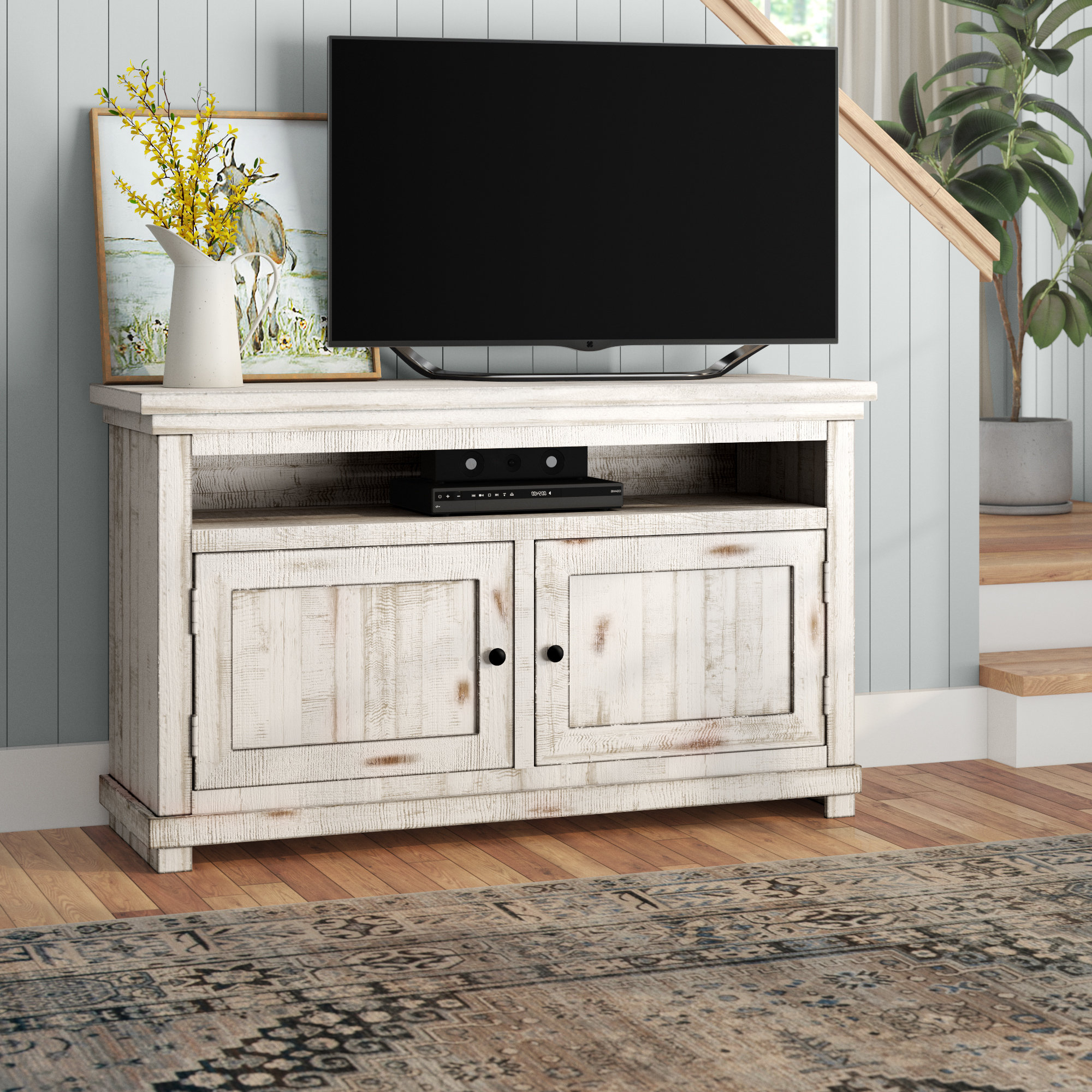 Solid Wood Tv Stands & Entertainment Centers You'll Love (View 16 of 20)