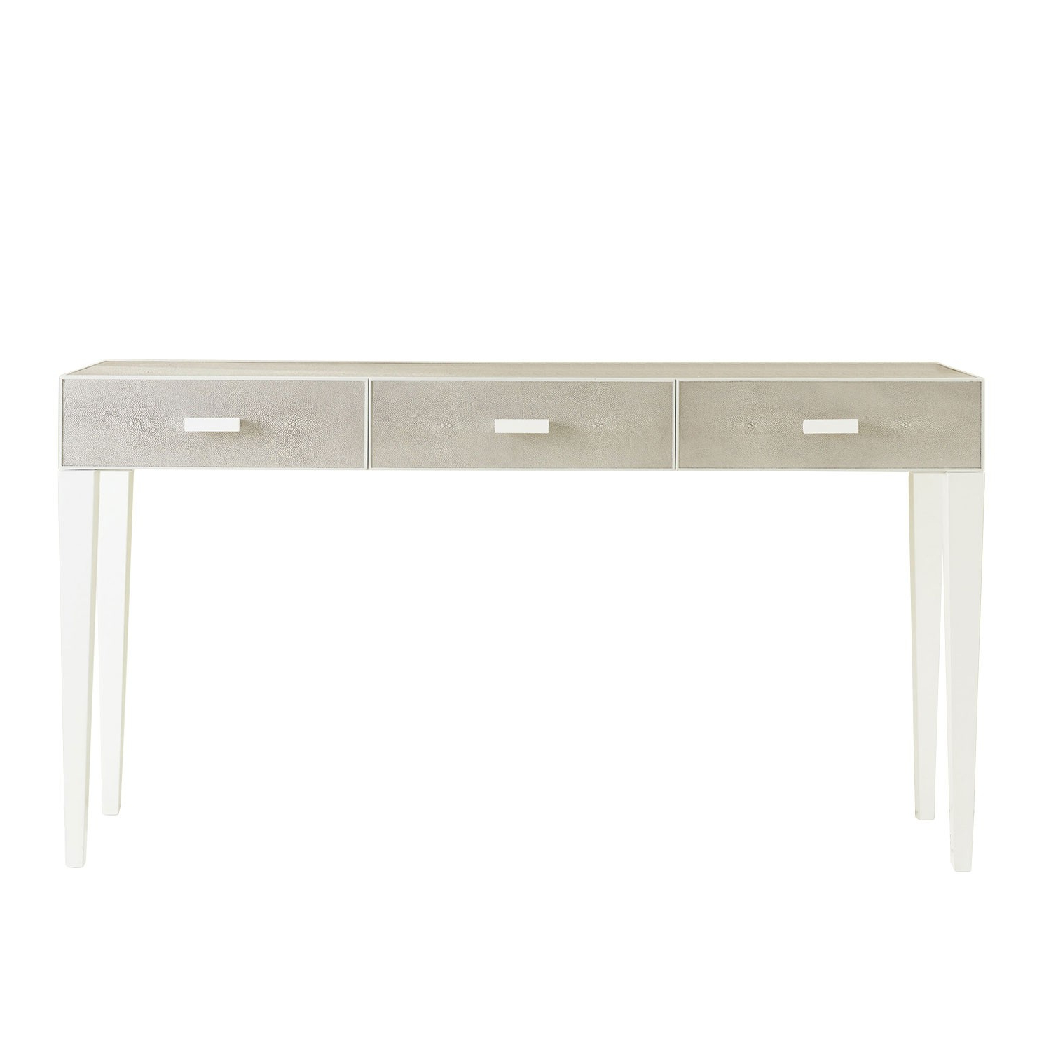 Featured Photo of Grey Shagreen Media Console Tables