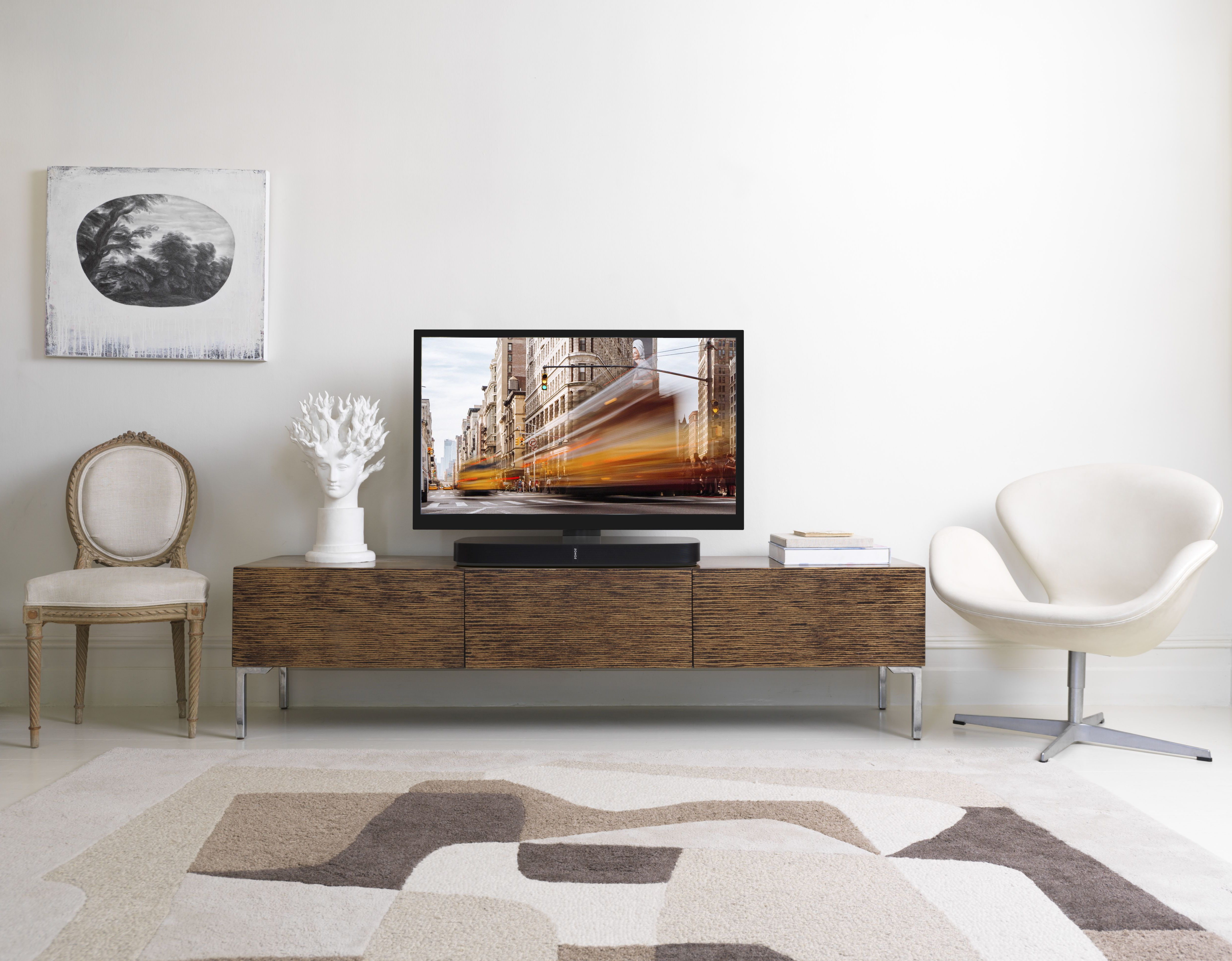 Sonos Tv Stands Throughout Popular Flexson Adjustable Tv Stand For Sonos Playbase – Tv Mounts & Stands (View 7 of 20)