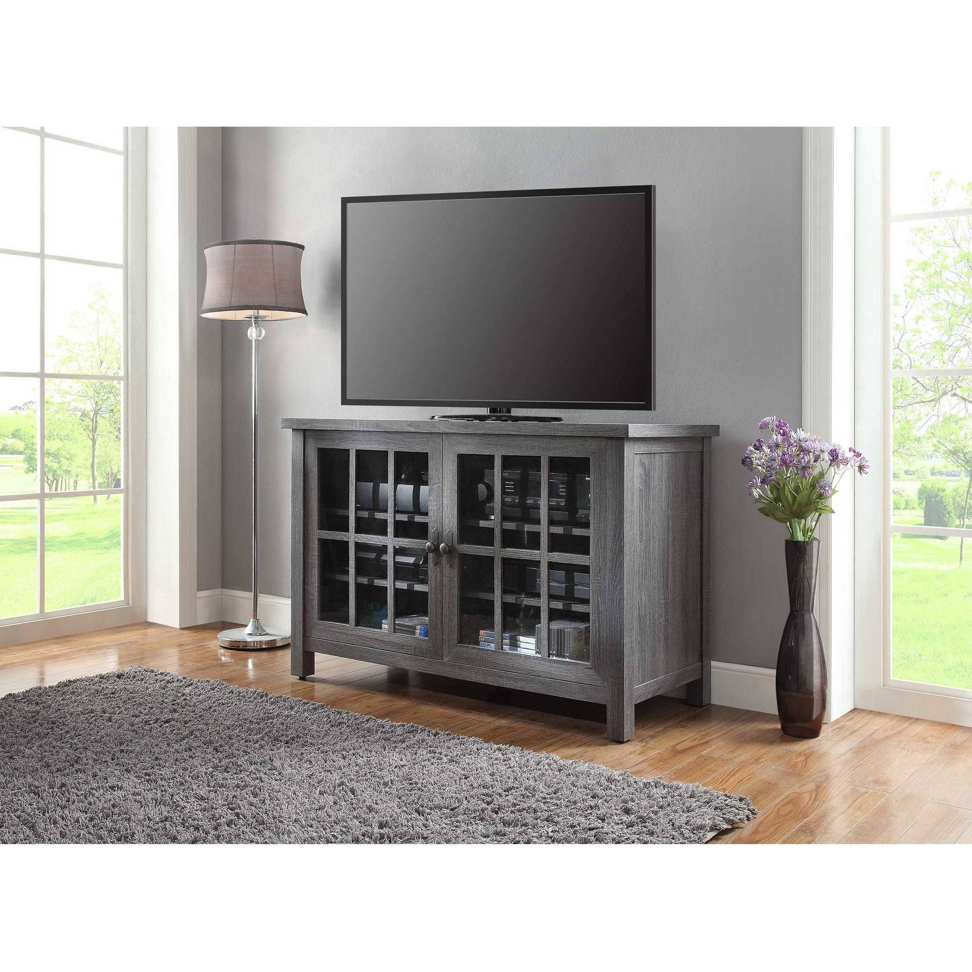 Square Tv Stands With Well Known Better Homes And Gardens Oxford Square Tv Console For Tvs Up To (View 4 of 20)
