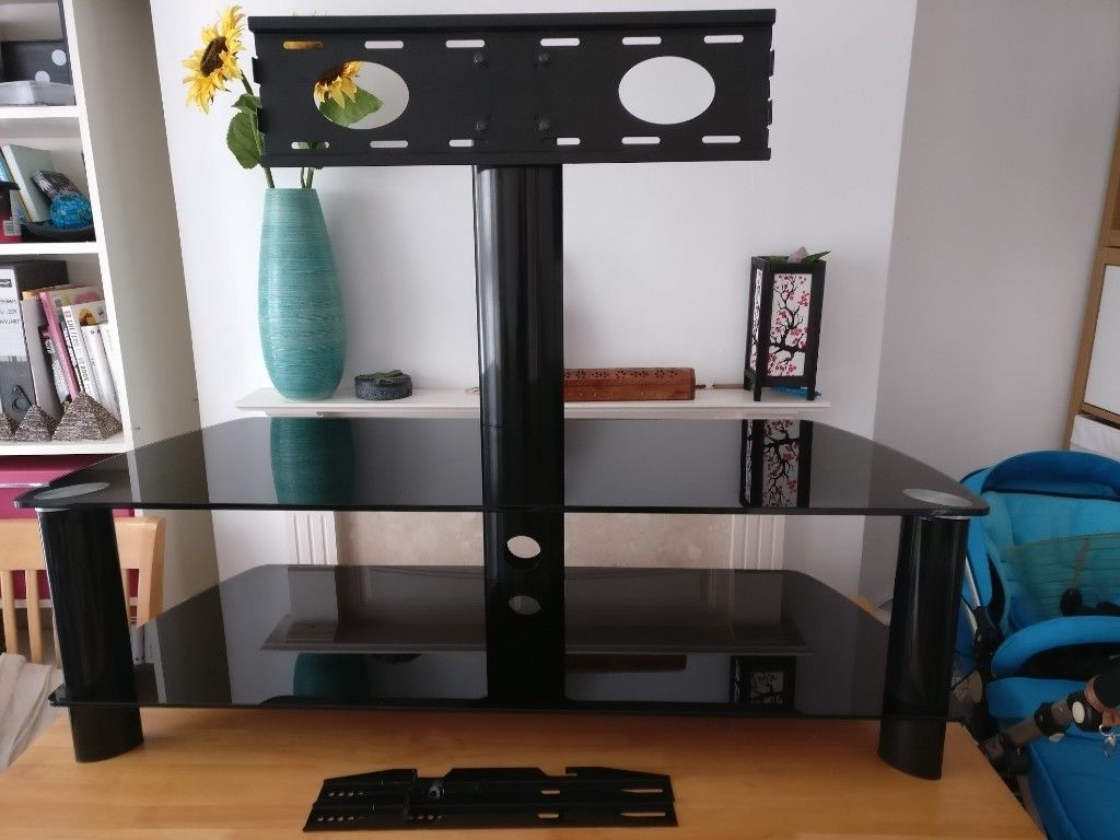 "Stil Tv Stands Regarding Most Popular Stil Stands Stuk 2055 Tv Stand For 50"" Plasma (handles 55&quot (View 10 of 20)"