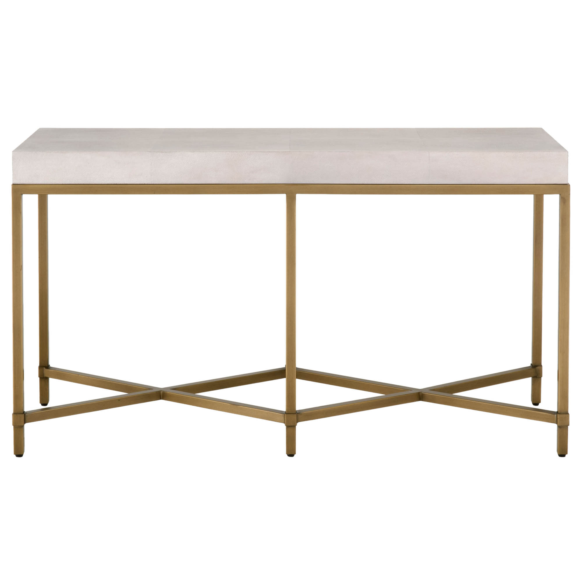 Strand Shagreen Console Table For Most Recently Released Faux Shagreen Console Tables (Gallery 12 of 20)