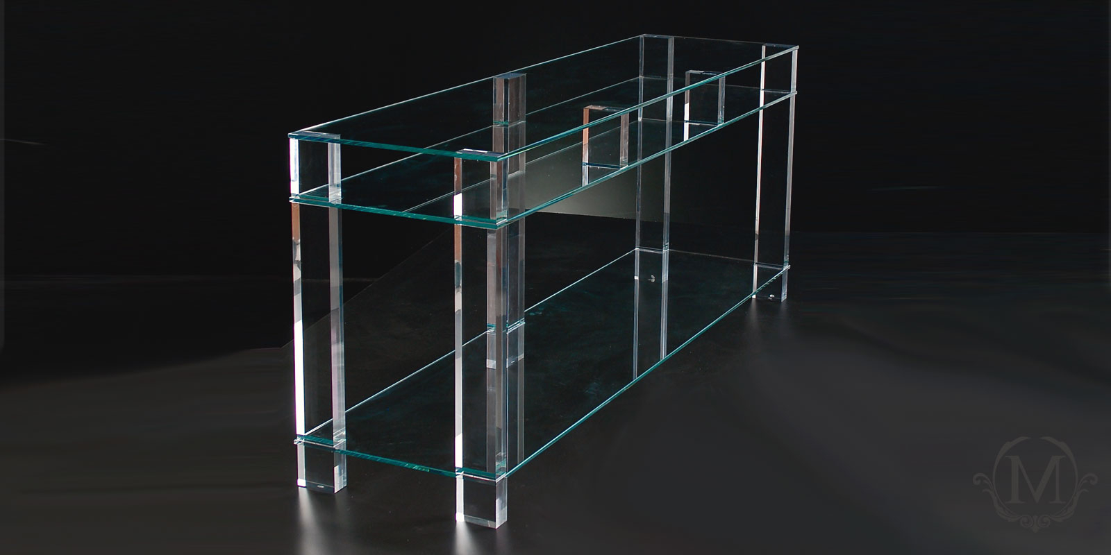 Stylish Acrylic Tv Stand – Marion Collection Within Fashionable Clear Acrylic Tv Stands (Gallery 14 of 20)