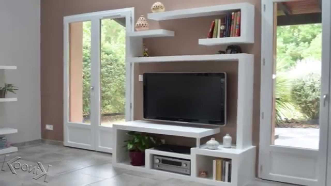 Stylish Tv Cabinets With Regard To Widely Used Diy A Stylishtv Stand – Youtube (View 15 of 20)