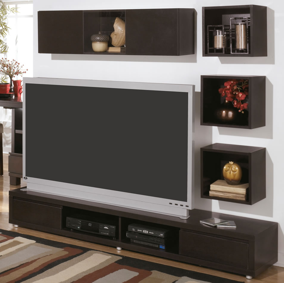 Stylish Wall Mounted Hutch Entertainment Centers — Rocket Uncle Pertaining To Widely Used Modern Tv Stands With Mount (Gallery 16 of 20)