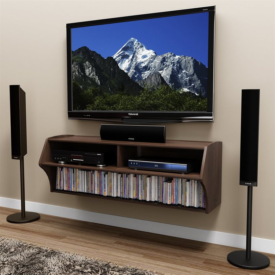 Swanky Design Then Grey Wall Wall Mount Tv Stand Inspirations And Within Recent Rectangular Tv Stands (View 18 of 20)