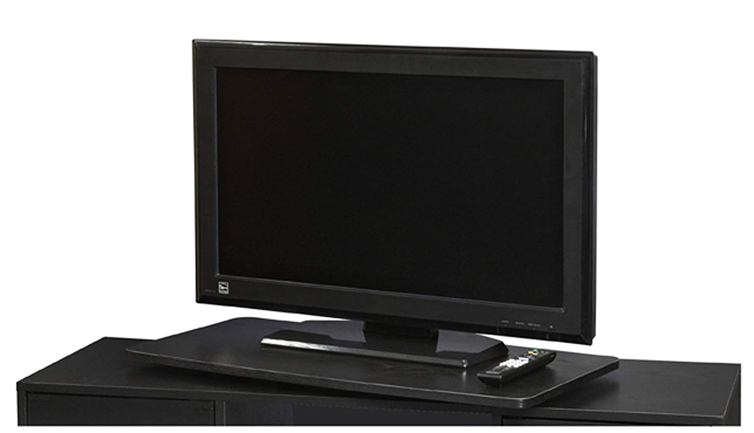 Swivel Tv Riser Throughout Popular Amazon: Single Tier Extra Large Swivel Tv Turntable: Electronics (View 12 of 20)