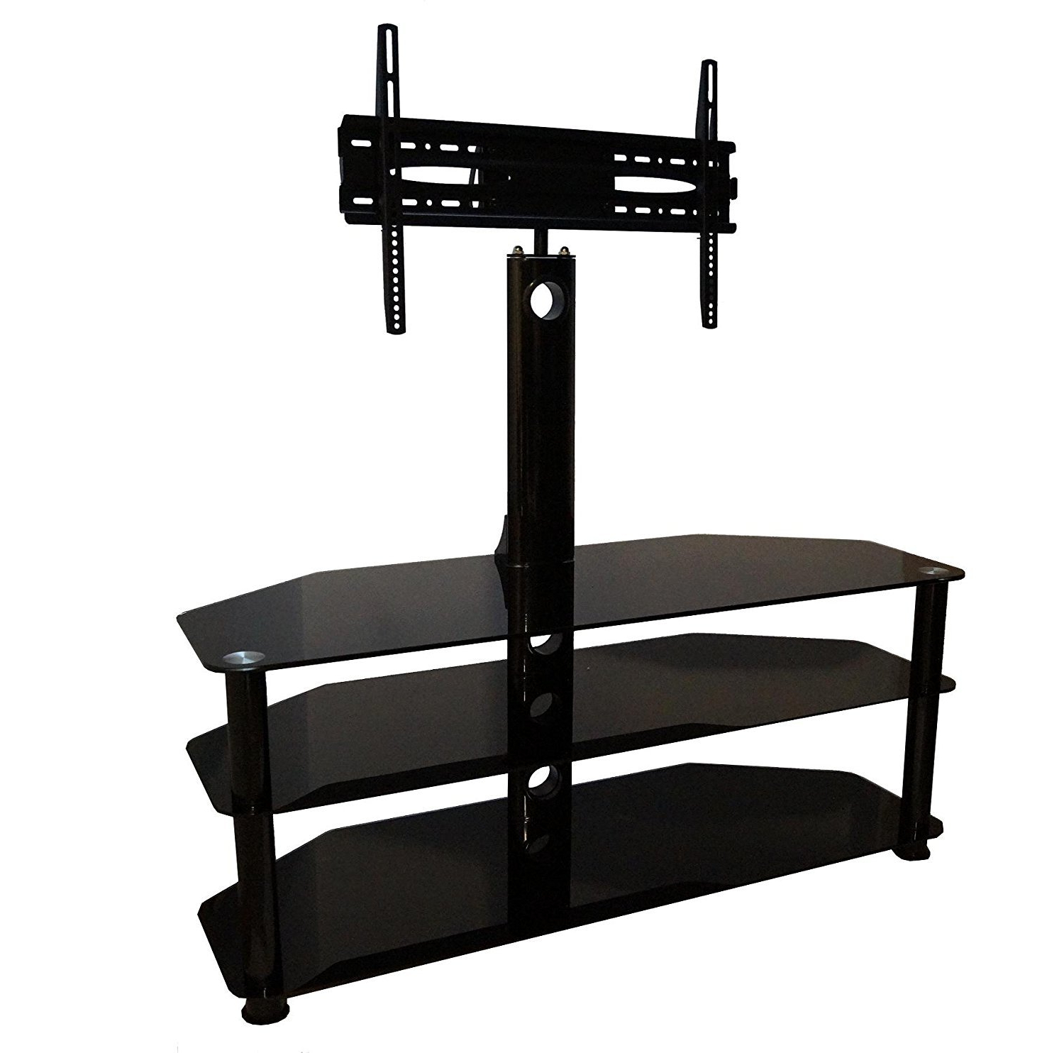 """Symple Stuff Cantilever Tv Stand For Tvs Up To 60"""" (Gallery 11 of 20)"""