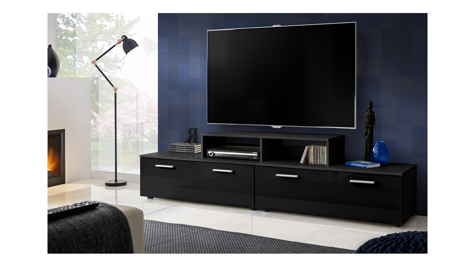 T30 200Cm + Tv Stand – Extreme Furniture Limited Inside Newest 100Cm Tv Stands (View 13 of 20)