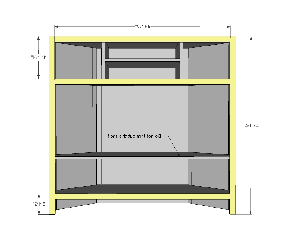 Tall Corner Media Console – Diy Projects (View 18 of 20)