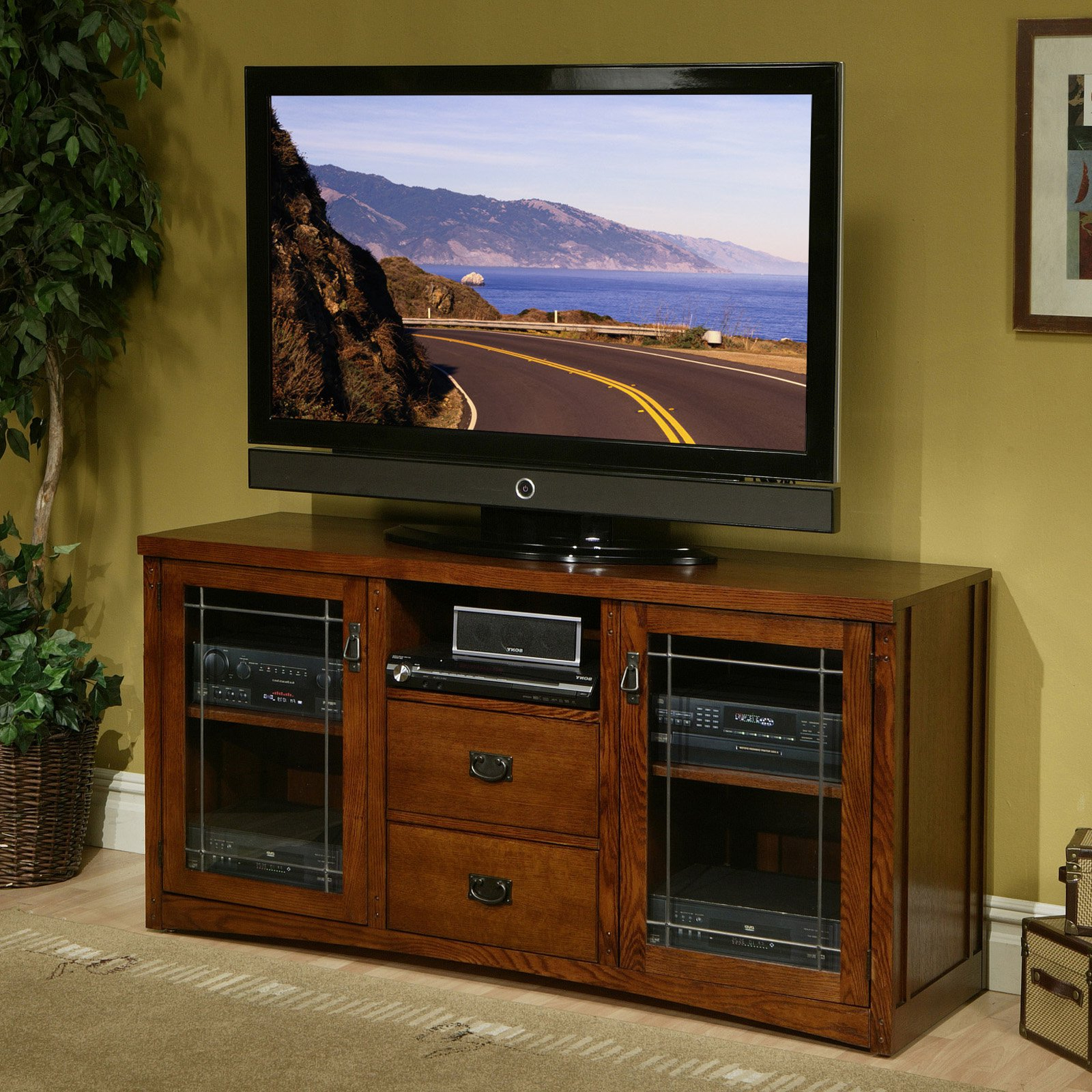Tall Tv Stands For Flat Screen Within Best And Newest Amazing Tall Tv Stands For Flat Screens … – Furnish Ideas (View 19 of 20)