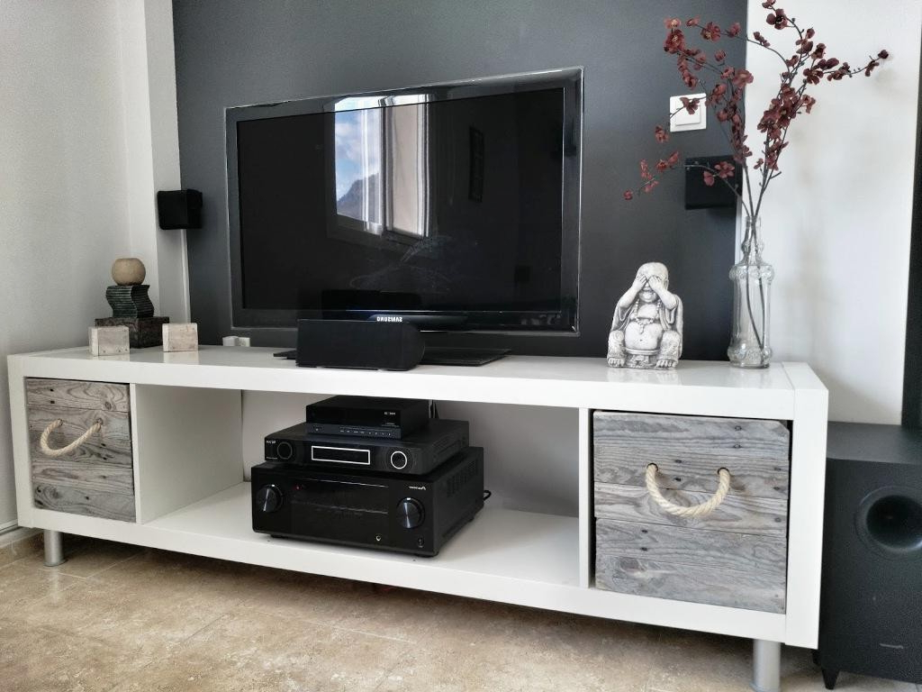 Tall Tv Stands Ikea Pleasant Best Stand High Quality Features 55 Pertaining To Most Current 24 Inch Deep Tv Stands (View 13 of 20)