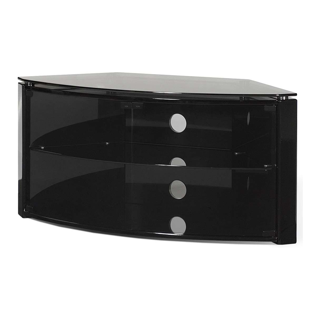 "Tech Link B6b Bench Corner Plus Tv Stand For 55"" Tv – Black (View 2 of 20)"