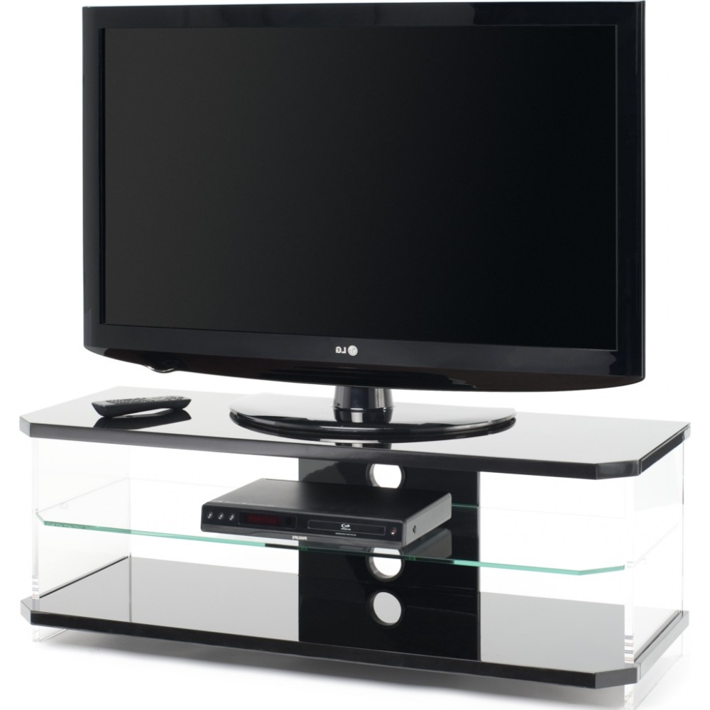 Techlink Air Tv Stands With 2018 Optically Clear Side Panels; Screens Up To (View 6 of 20)