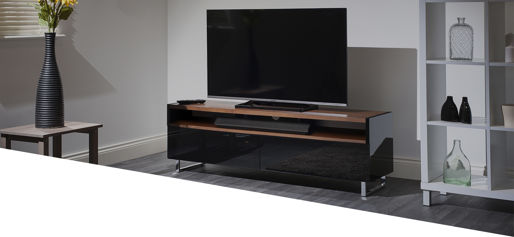 Techlink Panorama Walnut Tv Stands For Well Liked Techlink – Panorama Plus (View 11 of 20)