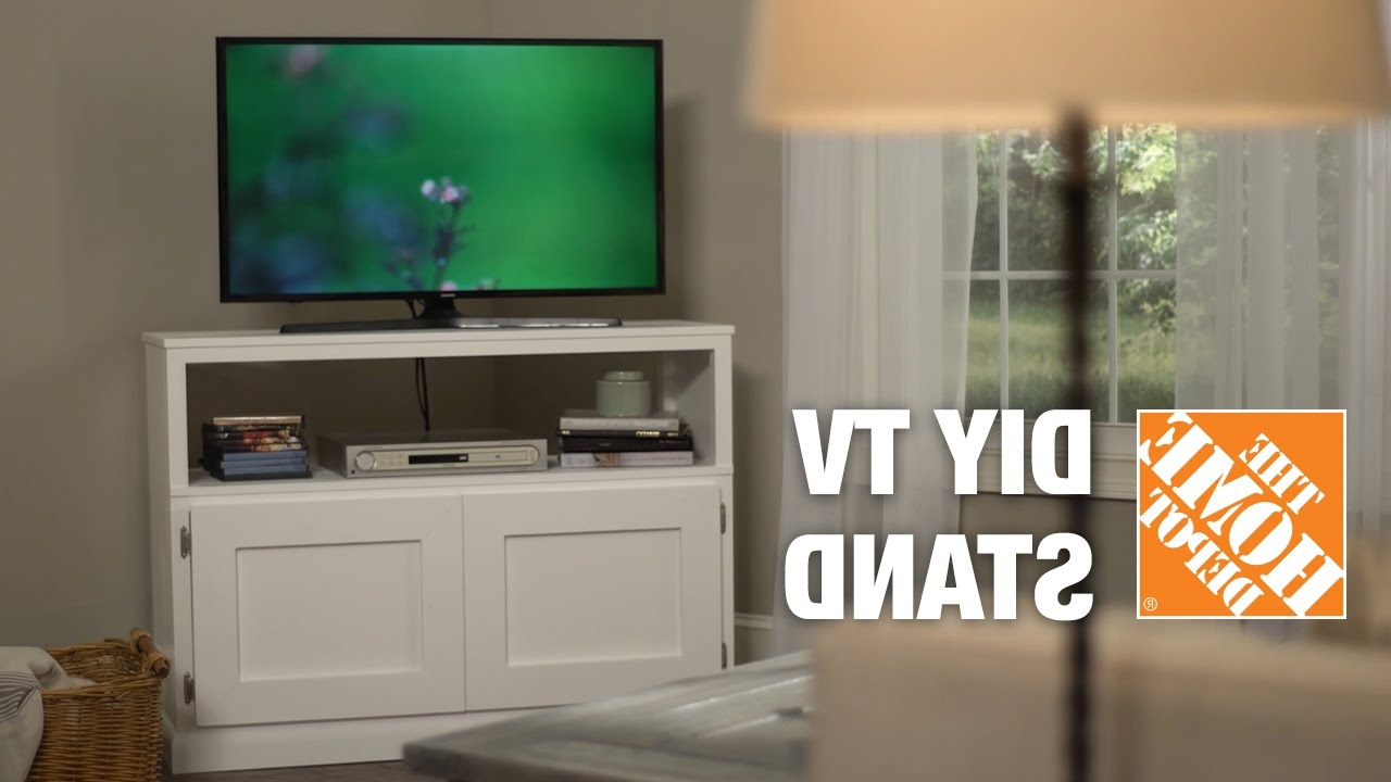 Telly Tv Stands With Well Known Diy Tv Stand: How To Build A Tv Stand (View 5 of 20)